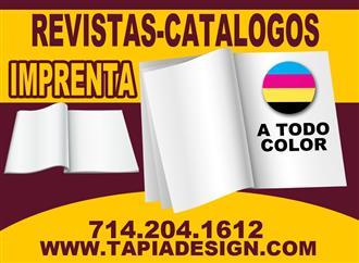 Menus Printing in full color image 1