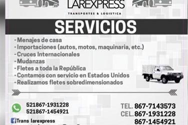 SERVICIO DE MUDANZA HACIA MEX- en Houston