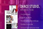 Dance Studio WordPress Theme