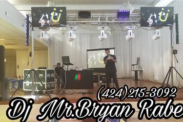 _% SONIDO MR. BRYAN RABEL %_ en Los Angeles