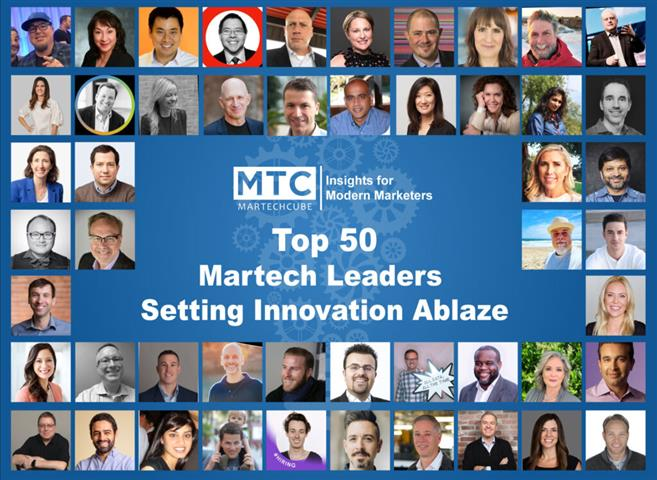 Top 50 Martech Leaders Setting image 1