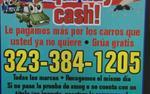 FAST CASH   4JUNKS CARS  HERE en San Bernardino County