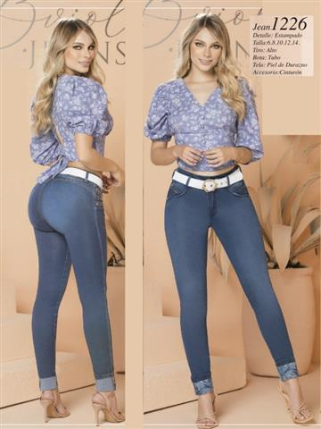 $2100 : jeans colombianos levantacola image 2