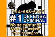 ◙♦◙ DEFENSA CRIMINAL #1 en Orange County