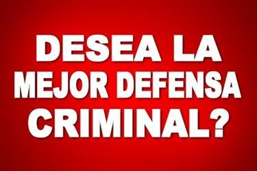 LA MEJOR DEFENSA CRIMINAL !!!! en Los Angeles County