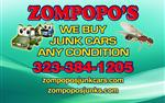 CASH  for JUNKS CARS Zompopos en Los Angeles