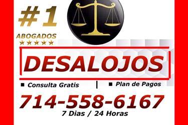 ○♦█ INQUILINOS / DESALOJOS en Orange County