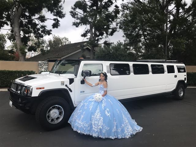 Limousine in orange $95hr image 3