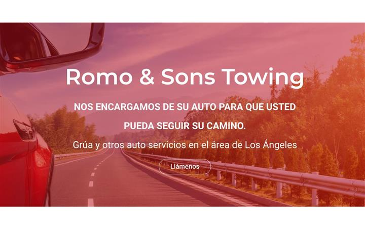 ROMO & SONS TOWING image 1