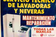Tecnico de lavadoras y neveras