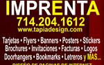 Flyers para negocios en Orange County