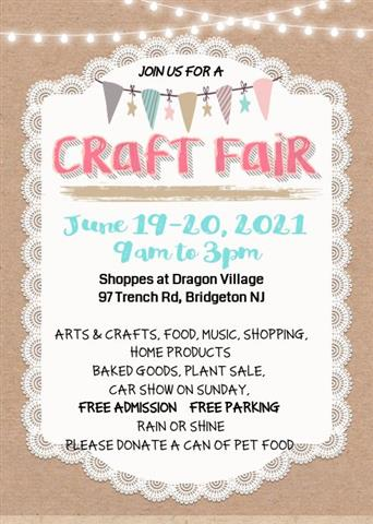 Join Us! June Craft Fair image 1