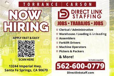 Stand Up Forklift Operator en Los Angeles County