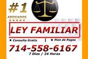 ❎ ABOGADO / LEY FAMILIAR.