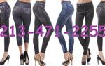 Leggings Estilo Jeans Mayoreo, en Los Angeles