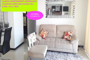 luxurious furnished apartment en Cali