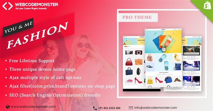 Clothes Fashion Template image 1