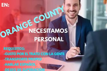 OPORTUNIDAD DE NEGOCIO ORANGE en Orange County