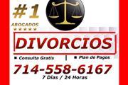 ♦♦♦█ DIVORCIOS/ PLAN DE PAGOS en Orange County