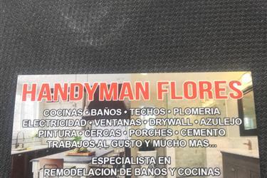 HANDYMAN FLORES en Los Angeles