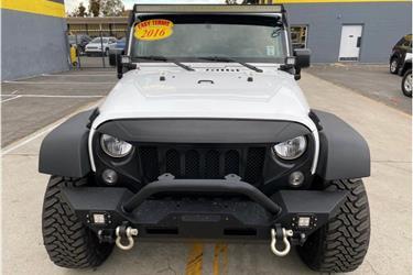 2016 Jeep Wrangler Unlimited S en Los Angeles County