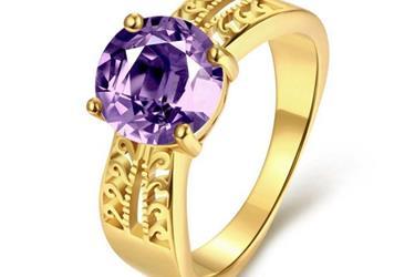 anillos de damas oro laminado en Los Angeles
