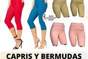 BERMUDAS Y CAPRIS STRECH !!!