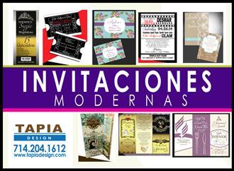 INVITACIONES MODERNAS Y NUEVAS image 2