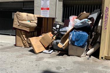 Recogemos basura todas parte en Los Angeles