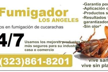 Fumigador-Termitas-Plagas 24hr en Orange County