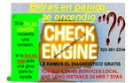CHECK ENGINE LIGHT en Los Angeles