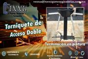 Torniquete de acceso doble en Irapuato