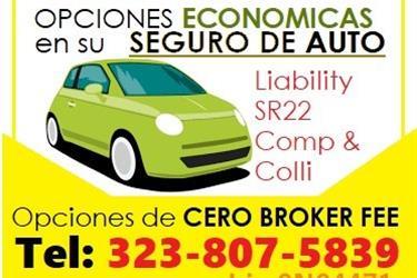 SEGURO MUY ECONOMICO ✅ en Los Angeles County
