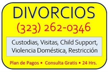 CHILD SUPPORT/CUSTODIA/VISITAS en Los Angeles