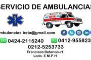 AMBULANCIAS BETA. CARACAS