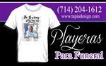 Playeras para Funeral en Los Angeles County