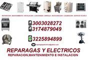 REPARACION Y ARREGLO DE ESTUFAS ELECTRICAS EN CAL