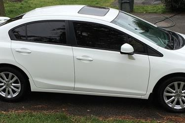 2012 HONDA CIVIC EX en Los Angeles