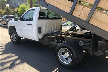 Truck de basura in los ángeles en Los Angeles