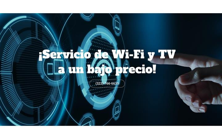 INTERNET ,WIFI,CABLE, TV image 1