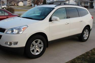 2011 CHEVROLET TRAVERSE LT en Los Angeles