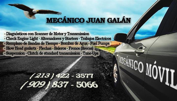 MECANICO MOVIL - ORANGE COUNTY image 1