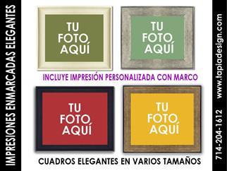 FOTOS EN CUADROS PERSONALIZADO image 1