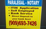 TAX - ITIN - Paralegal en San Bernardino County