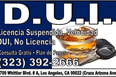 CASO CRIMINAL E INMIGRACION en Los Angeles