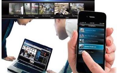 cecurity cameras tv installati image 2
