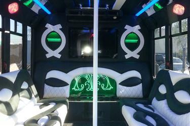 Hummer party bus Escalade en Los Angeles