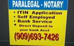 Notary - TAX - Paralegal en San Bernardino County