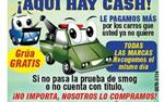 $$ DINERO  RAPIDO  4JUNKS CARS en Orange County