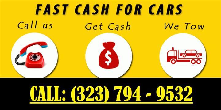 COMPRO CARROS PARA JUNKE CASH! image 1